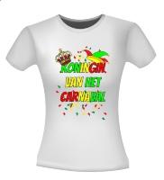 Koningin van het carnaval T-shirt