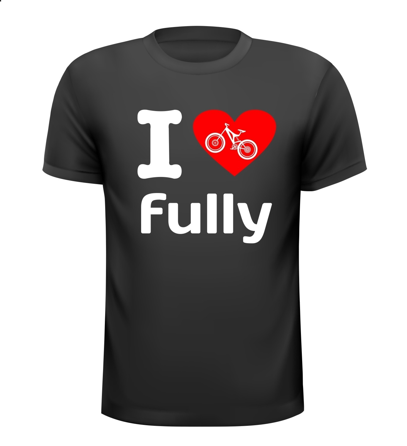 I love fully MTB T-shirt mountainbike