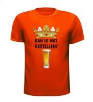 Kan ik wat bestellen bier koningsdag T-shirt bier drank