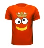 Koningsdag monster koekie t-shirt banaan