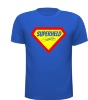 Superheld T-shirt sterk strong held