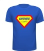 Superhero T-shirt strong man hero