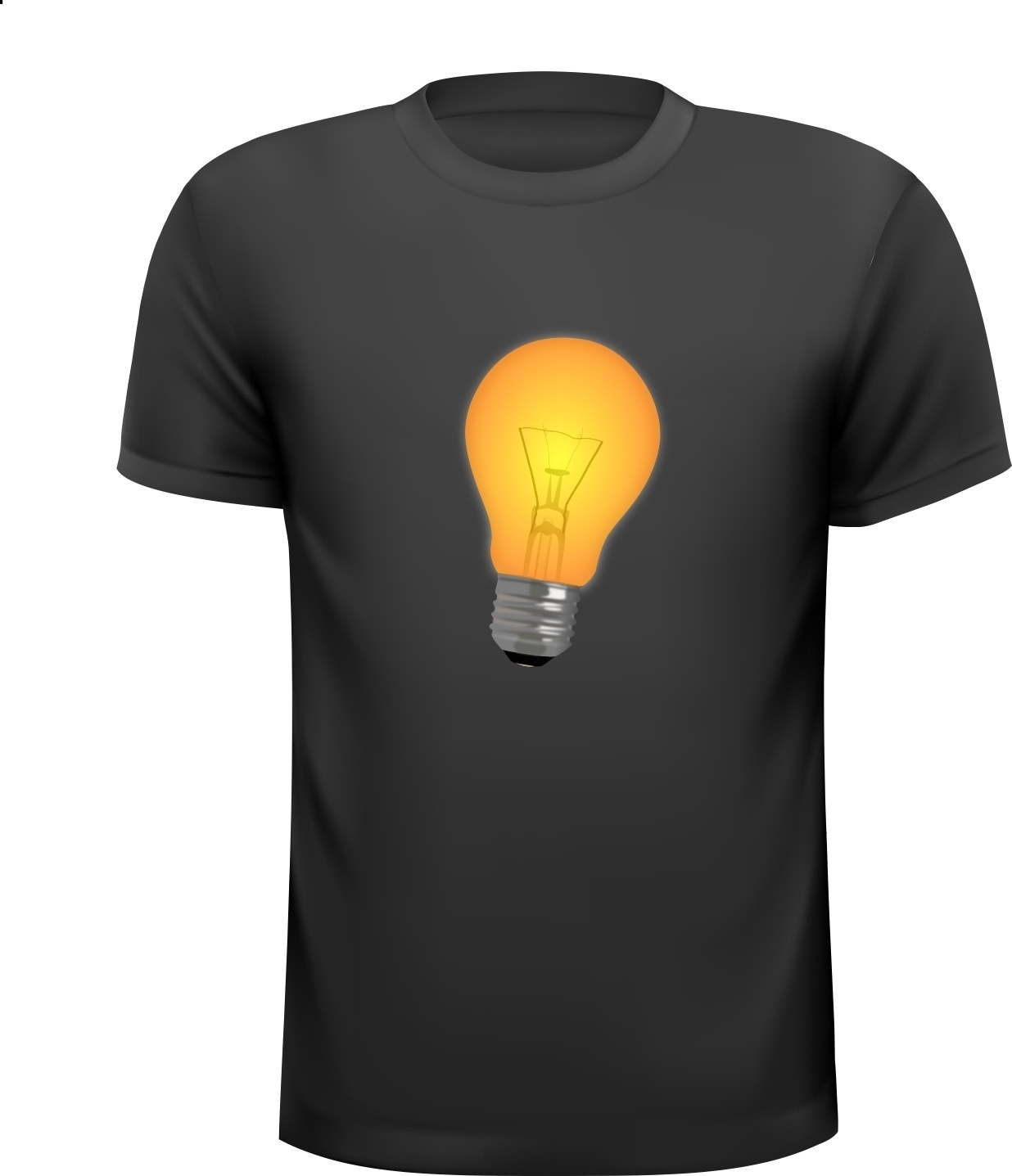 gloeilamp ouderwets T-shirt
