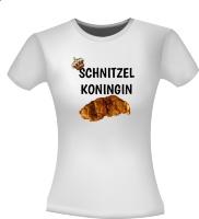 Schnitzel koningin t-shirt