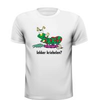 Eikenprocessierups grappig T-shirt jeuk krabben kriebelen