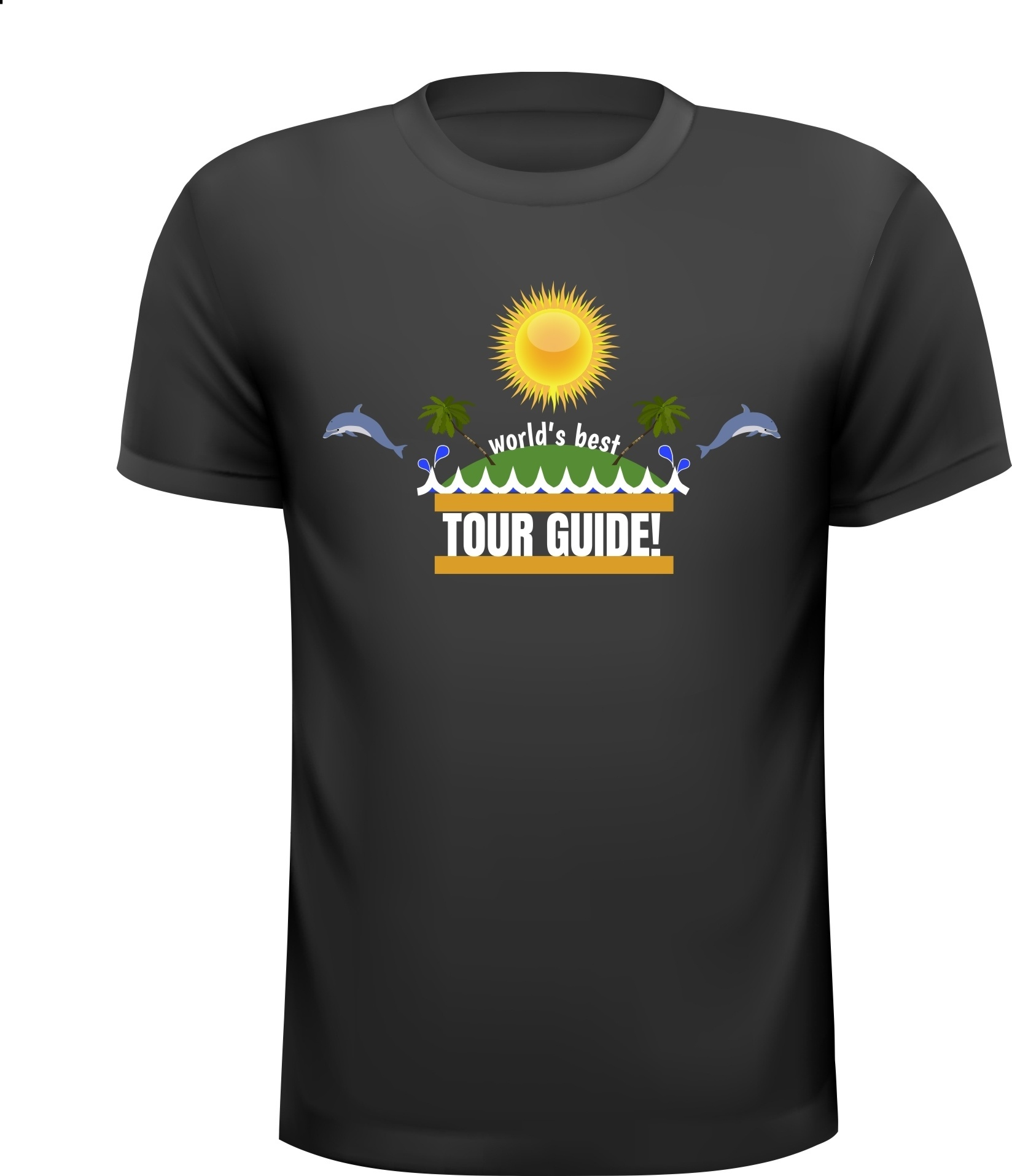 World's best tour guide reisleider shirt