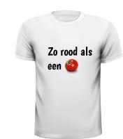 Zo rood als een tomaat T-shirt