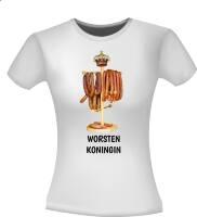 Worsten koningin grappig t-shirt