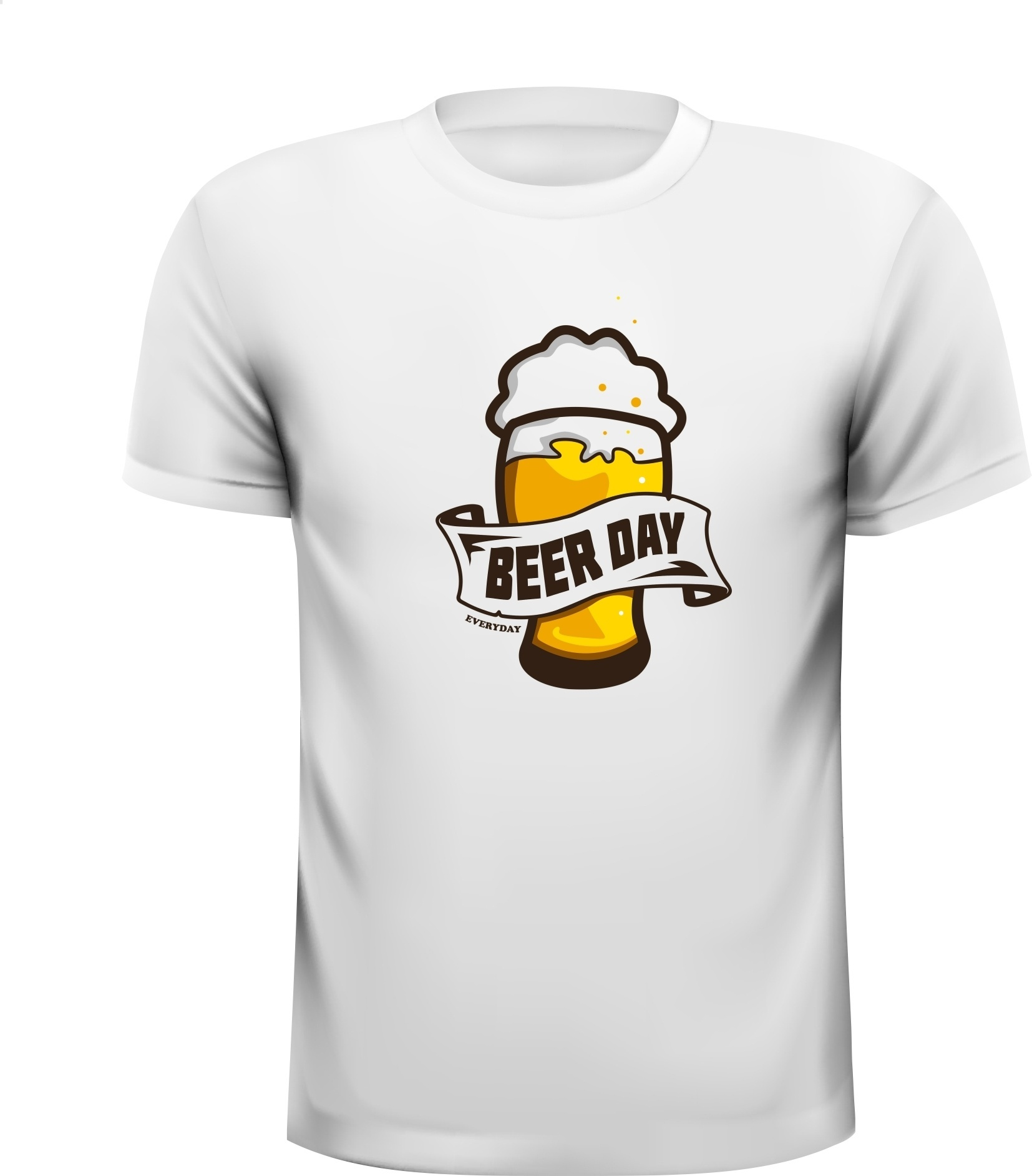 Beer day everyday bier elke dag T-shirt