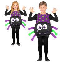Jumpsuit grote gezellige spin voor halloween of dierenfeest