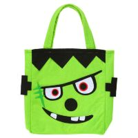 Monster tasje trick or treat halloween frankenstein