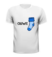 Ouwe sok T-shirt sokken oude man