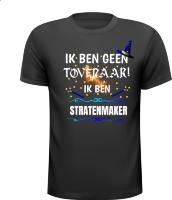 Stratenmaker T-shirt en geen tovenaar magisch shirt