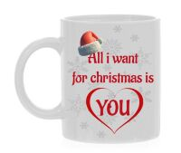 All i want for christmas is you koffiemok kerst geliefde verrassen