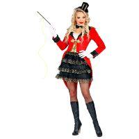 Circus dame van de piste kostuum parade outfit
