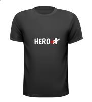 Hero T-shirt held