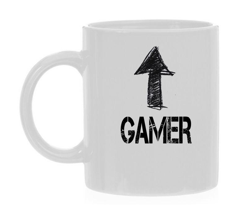 koffiemok gamer computerspelletje vintage leuk humor