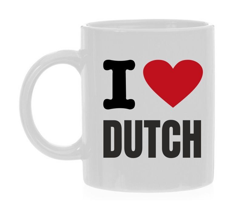 Koffiemok I love Dutch