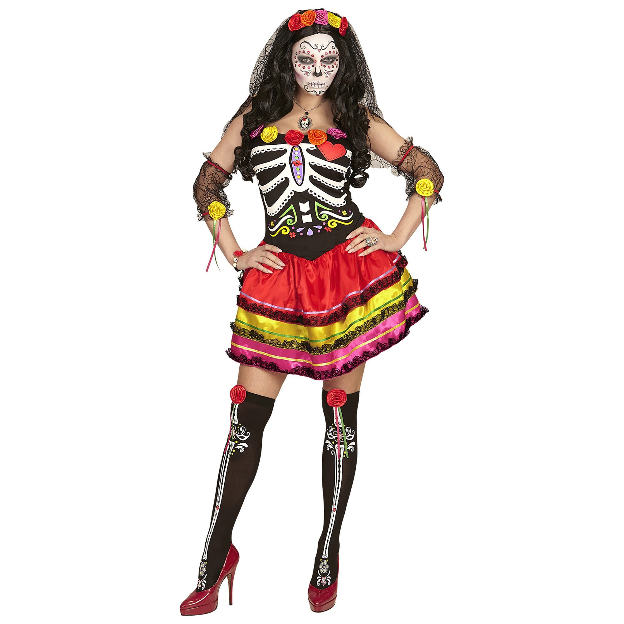 Day of the dead outfit dames