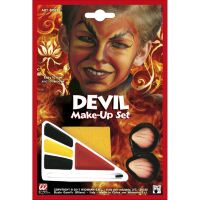 Duivel make-up set