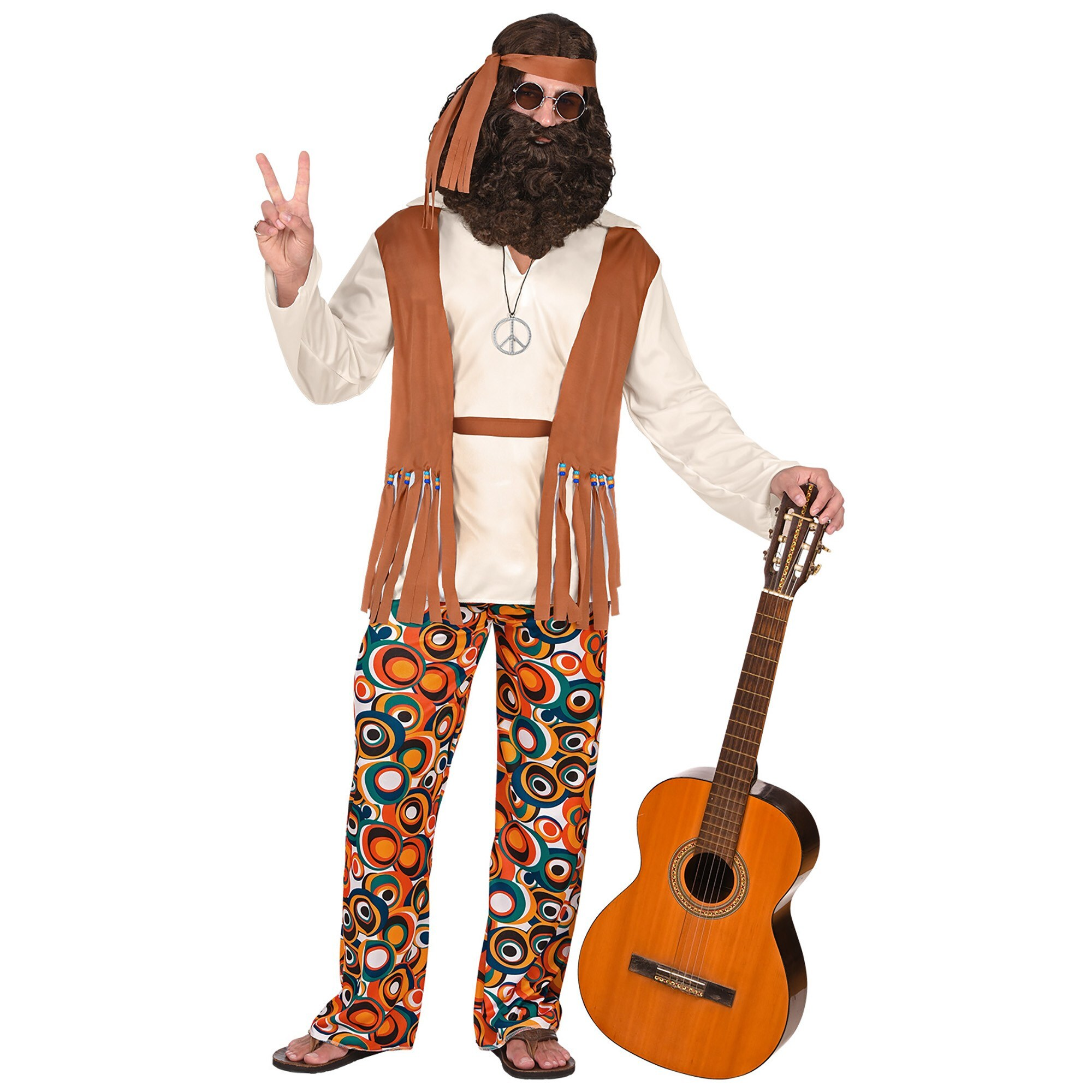 Hippie outfit carnaval man