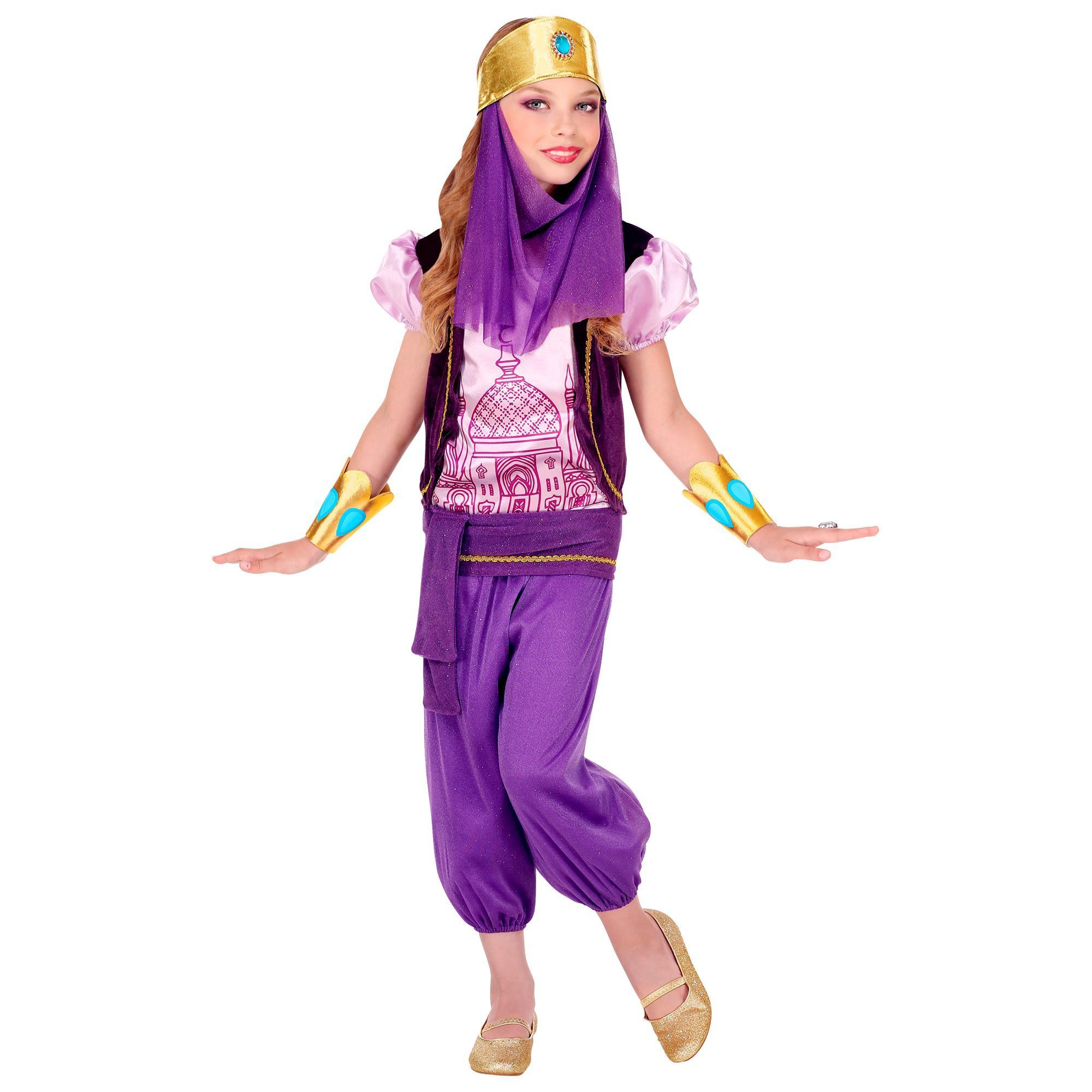 Meisjes prinses outfit Arabisch oosters