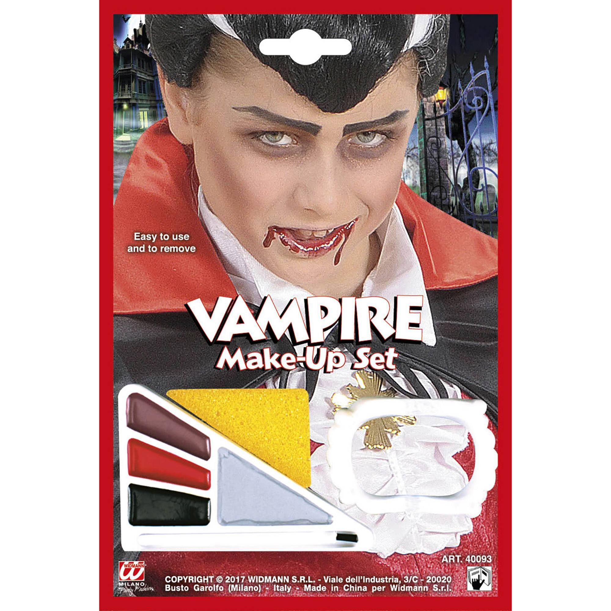 Vampier make-up set kind