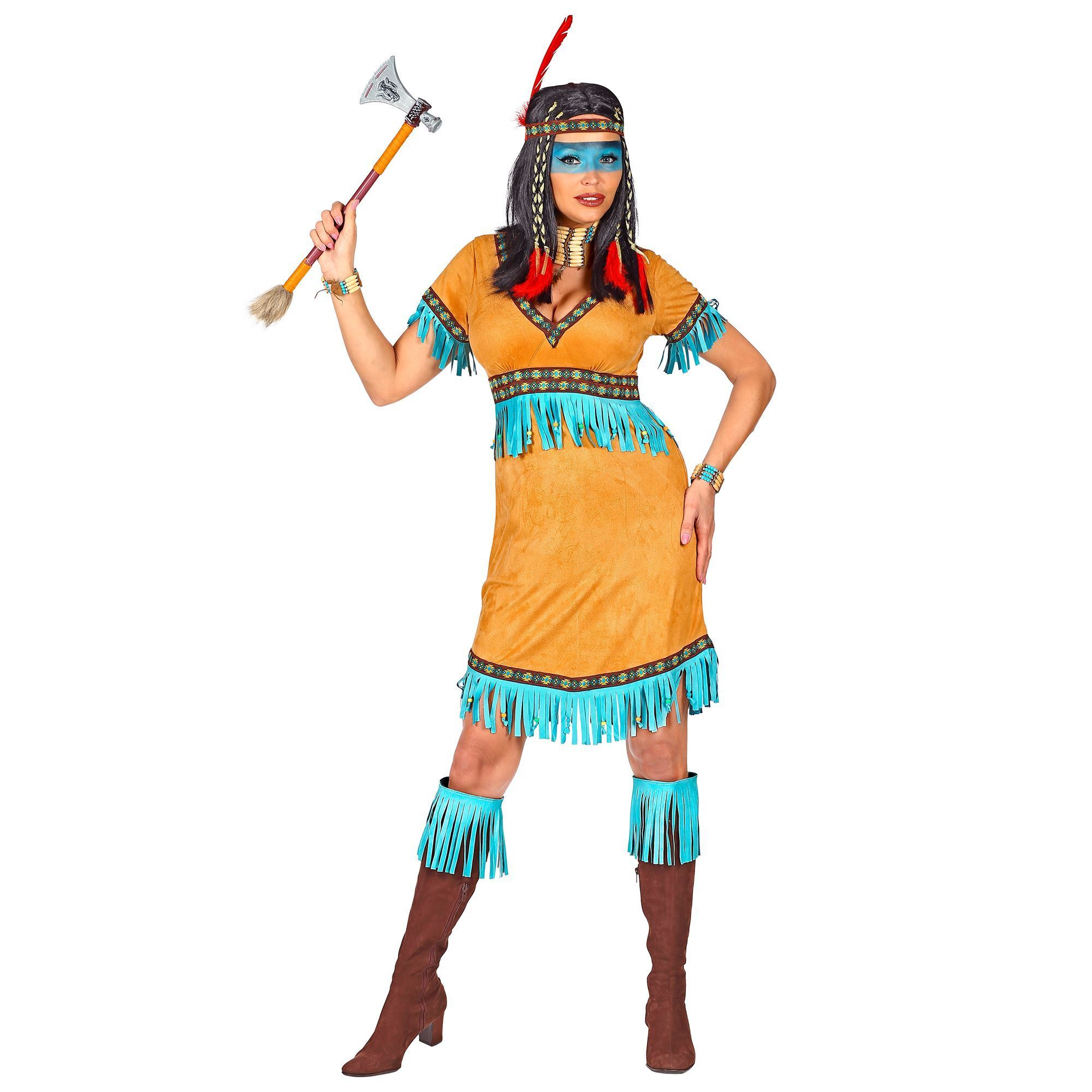 Vrouwen indianen outfit