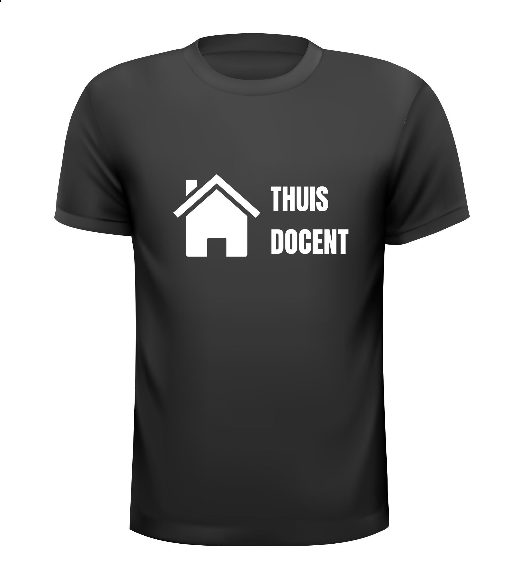 Thuis docent grappig T-shirt