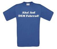 Aha! Auf DEM Fahrrad! T-shirt
