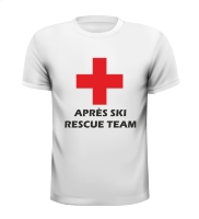 Apres ski rescue team t-shirt