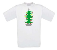 Kerstboom t-shirt