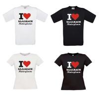 T-shirt i love saalbach hinterglemm