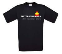Beter een muts dan bevroren oren T-shirt