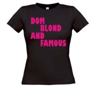 dom blond and famous t-shirt
