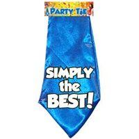 Fun stropdas Simply the best! aanbieding