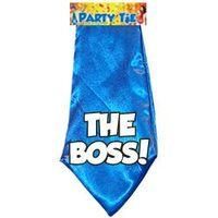 Fun stropdas The boss! aanbieding