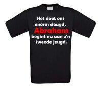 Het doet ons enorm deugd, Abraham begint nu aan zijn tweede jeugd T-shirt