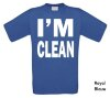 foto 1 i am clean t-shirt