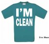 foto 11 i am clean t-shirt