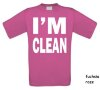 foto 13 i am clean t-shirt