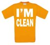 foto 9 i am clean t-shirt