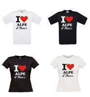 i love alpe dhuez t-shirt