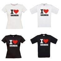 I love kirchberg t-shirt