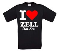 i love zell am see t-shirt