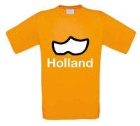 Klompen oranje t-shirt