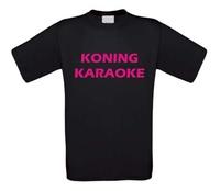 Koning karaoke t-shirt