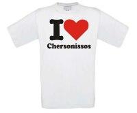 T-shirt i love Chersonissos