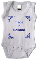 Made in holland romper delfsblauw
