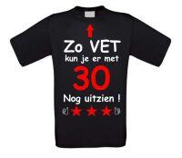 Zo vet kun je er met 30 nog uitzien t-shirt